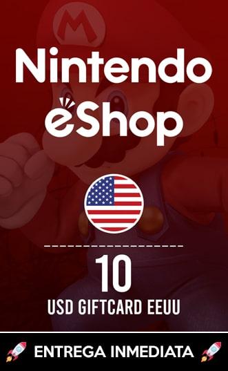 10 USD ESHOP (EEUU)