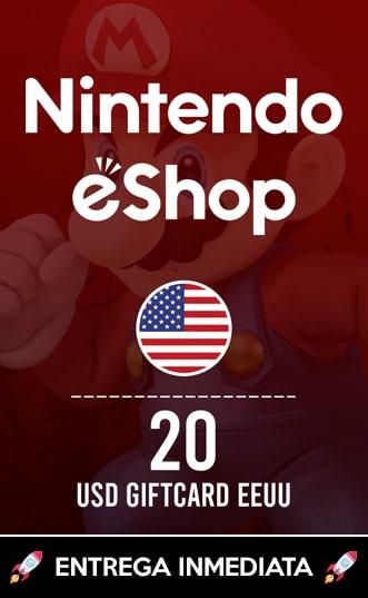 20 USD ESHOP (EEUU)