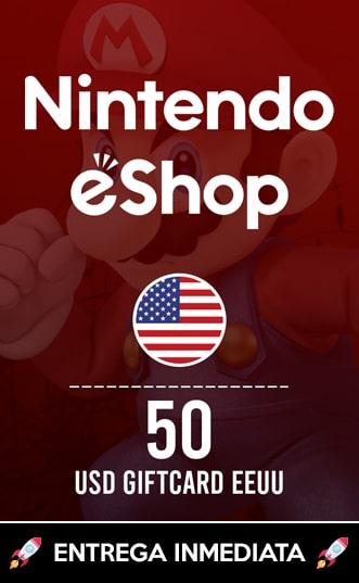 50 USD ESHOP (EEUU)
