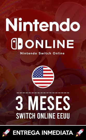 SWITCH ONLINE 3 MESES (EEUU)