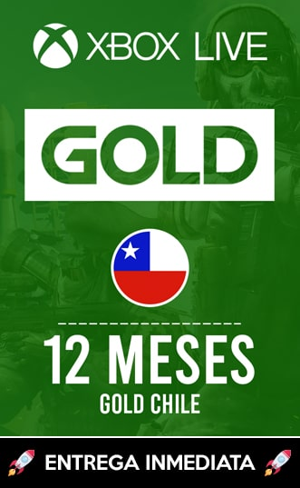 XBOX LIVE GOLD 12 MESES (CHILE)