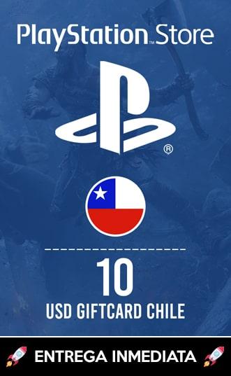 10 USD PSN (CHILE)