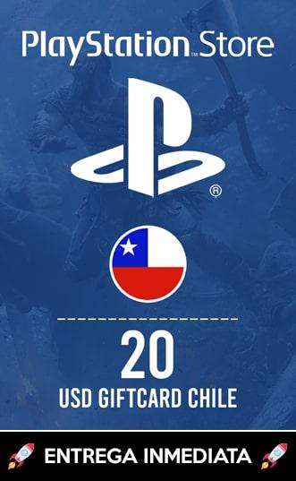 20 USD PSN (CHILE)