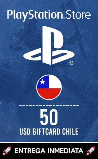 50 USD PSN (CHILE)