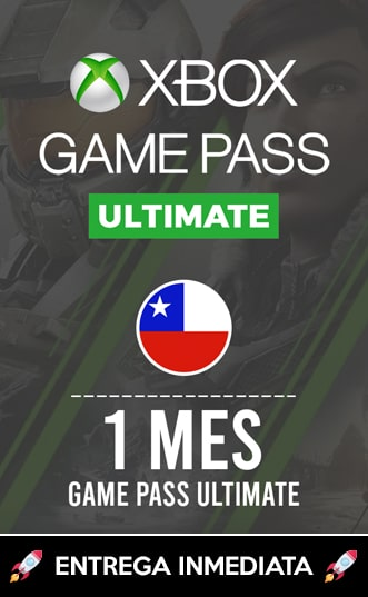 XBOX GAMEPASS ULTIMATE 1 MES (CHILE)