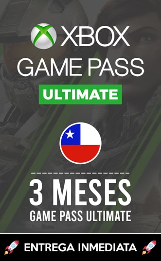 XBOX GAMEPASS ULTIMATE 3 MESES (CHILE)