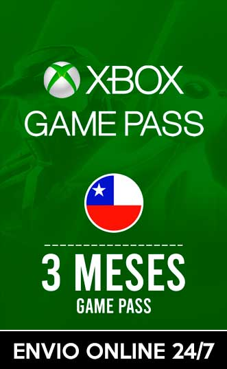 XBOX GAMEPASS 3 MESES (CHILE)