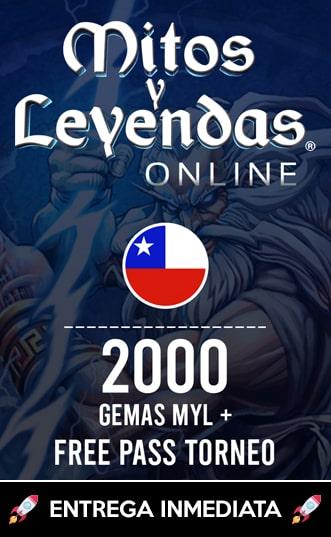 2000 Gemas MYL + Free Pass
