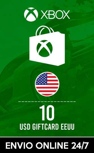 10 USD XBOX (EEUU)